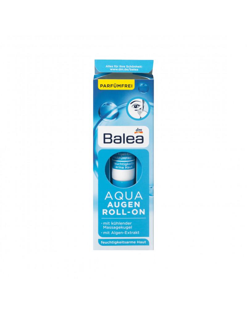 Augencreme Aqua Augen Roll-On Крем роликовый охлаждающий против темных кругов под глазами экстрактом морских водорослей и витамином Е, 15 мл