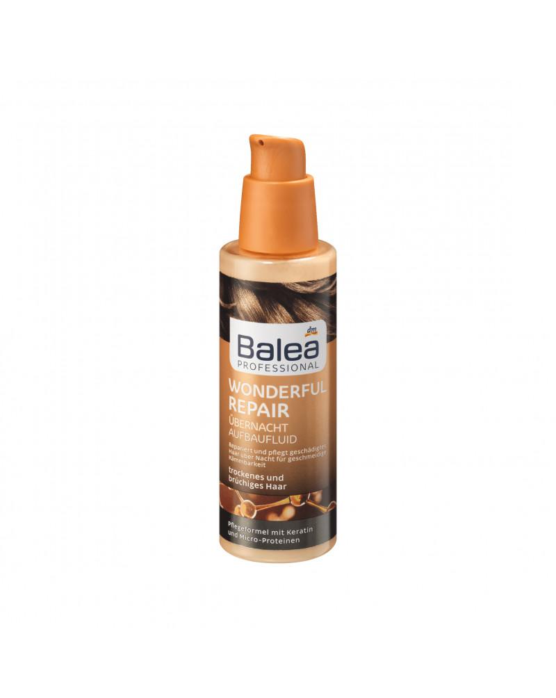 Overnight Aufbaufluid Wonderful Repair Ночная сыворотка для роста волос с кератином и микро-белками, 100 мл