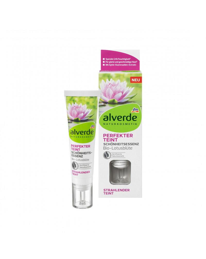 Fluid Perfekter Teint Schönheitsessenz  Дневной крем-флюид для сияния кожи с экстрактом цветов лотоса, 30 мл
