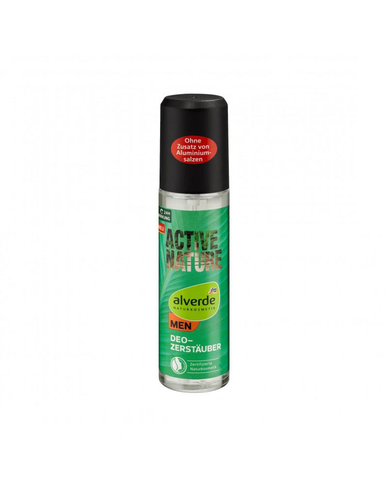 Active Nature Deo Zerstäuber Дезодорант парфюмированный с экстрактом агавы и гуараны, 75 мл