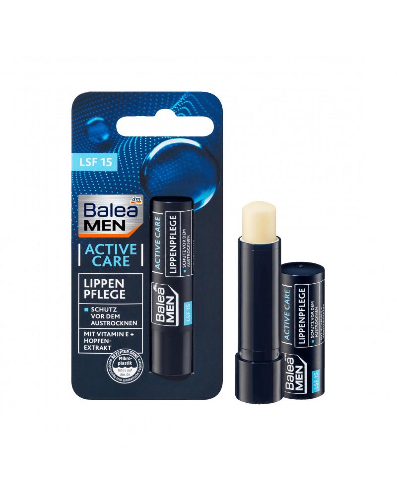 Lippenpflege active care Бальзам для губ  с экстрактом хмеля, 4,8 гр