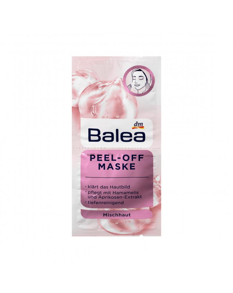 Maske Peel-Off Маска-пленка для лица с экстрактом гамамелиса и абрикоса, 2 x 8 мл.