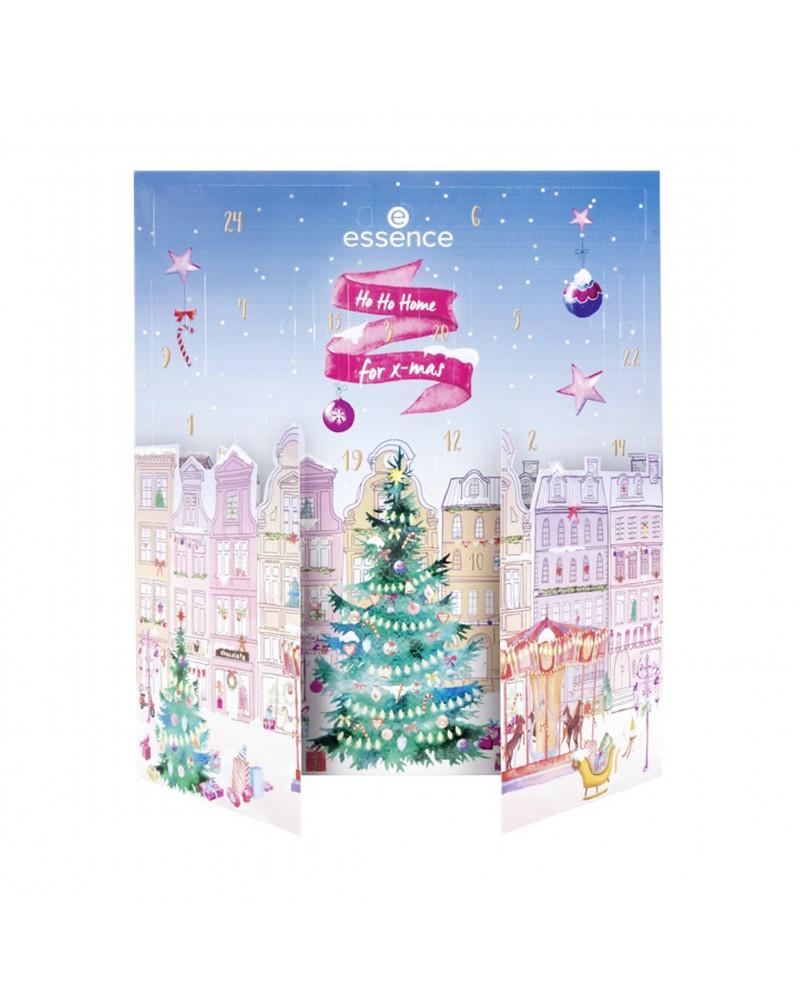 Ho Ho Home for x-mas advent calendar Адвент-календарь для яркого макияжа, 1 шт.
