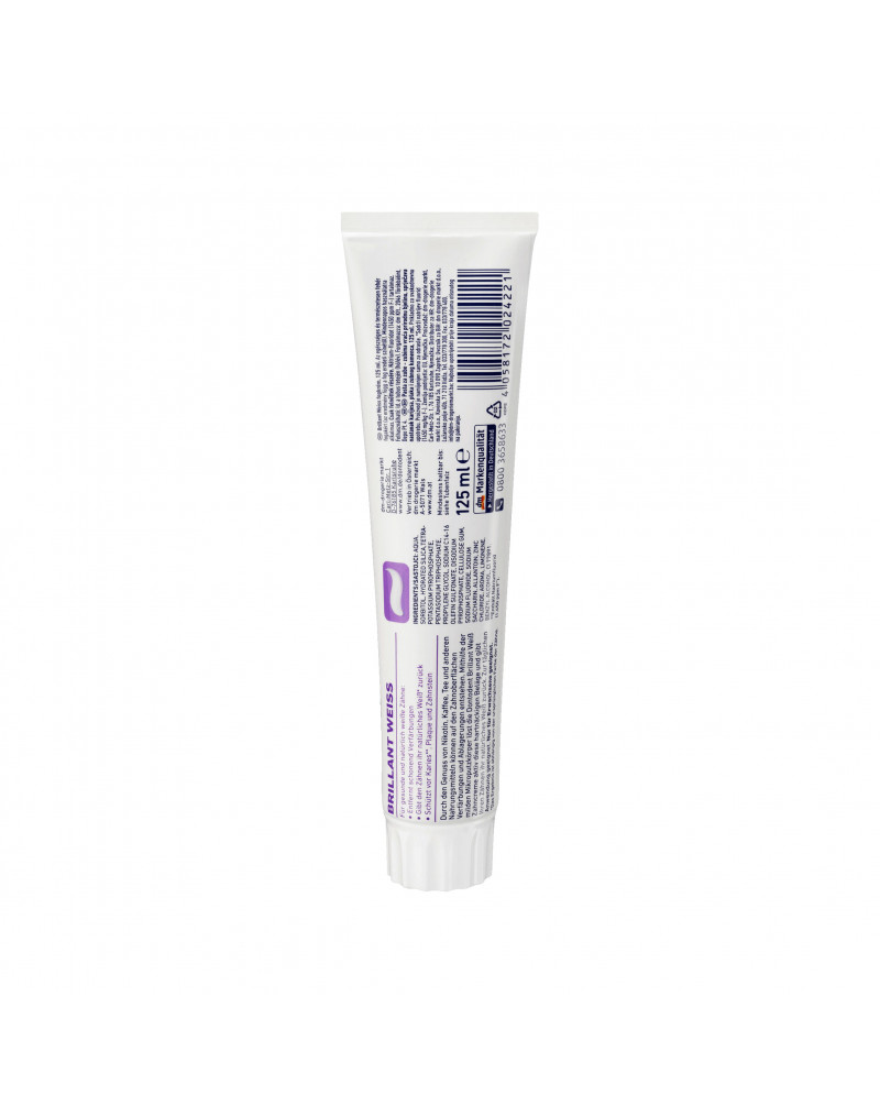 Zahnpasta Brillant Weiß Зубная паста экстра отбеливание, 125 ml