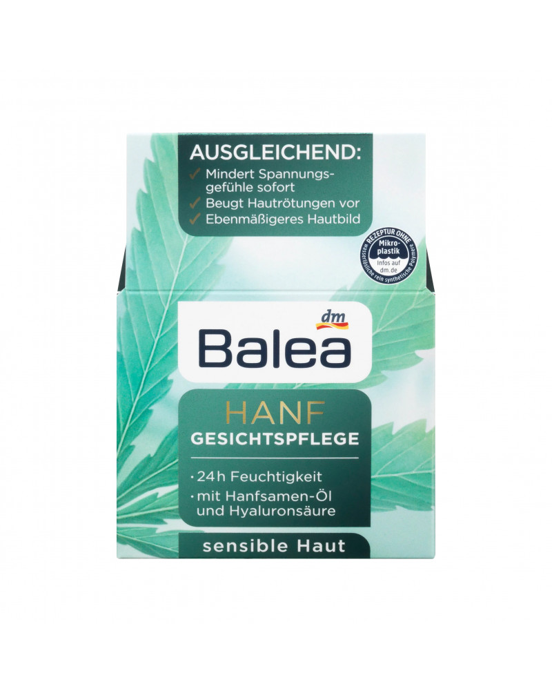 Tagescreme Hanf 24h-Pflege Крем для лица с конопляным маслом, 50 мл