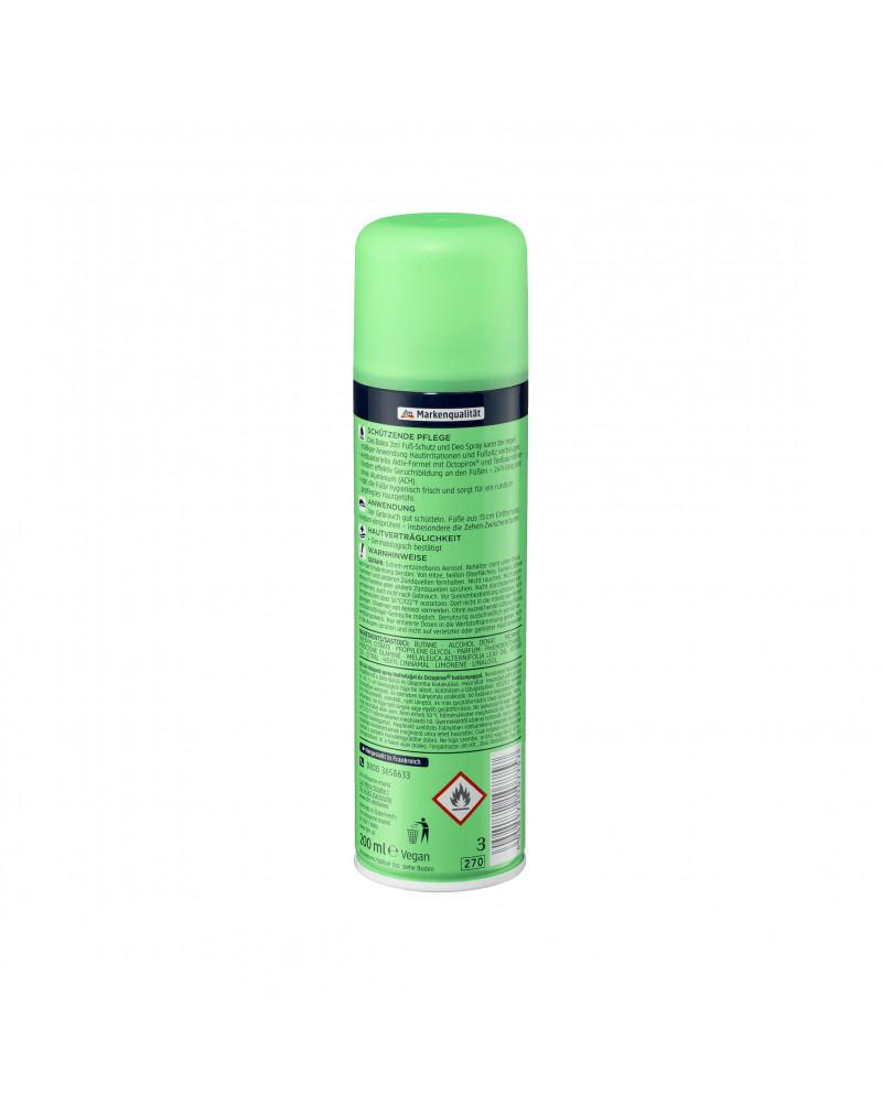 2in1 Fußschutz & Deo Spray Дезодорант для ног 2в1 с маслом чайного дерева, 200 мл