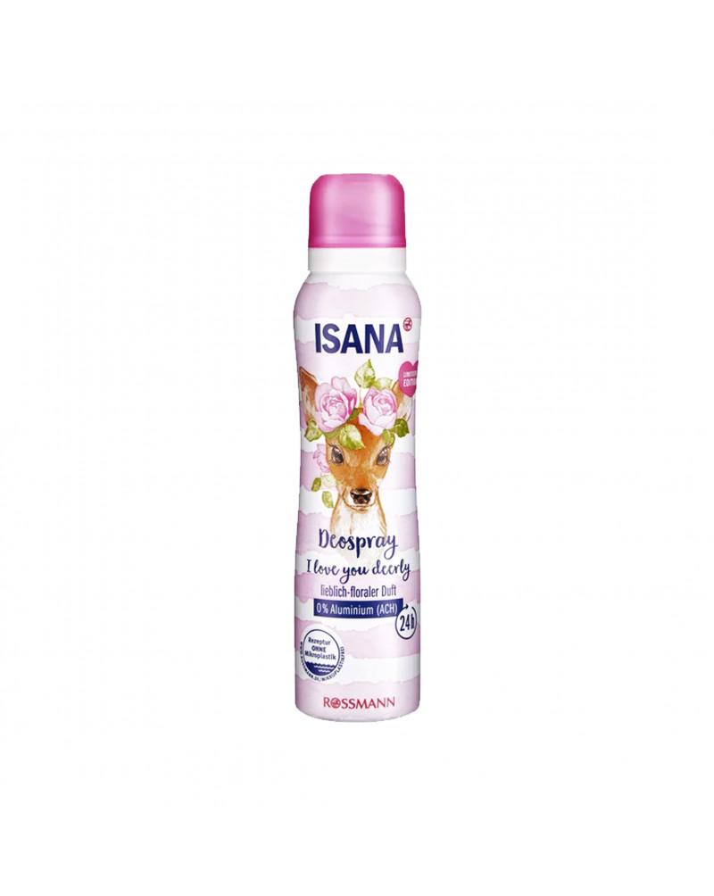 Deodorant Spray I love you deerly  Дезодорант парфюмированный с цветочным ароматом, 150 мл
