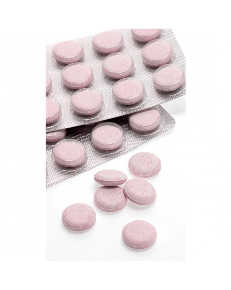 Kieselerde + Calcium + Zink + C Комплекс витаминов Кремний (Силика)+ Кальций + Цинк + С, со вкусом вишни, 30 таб.