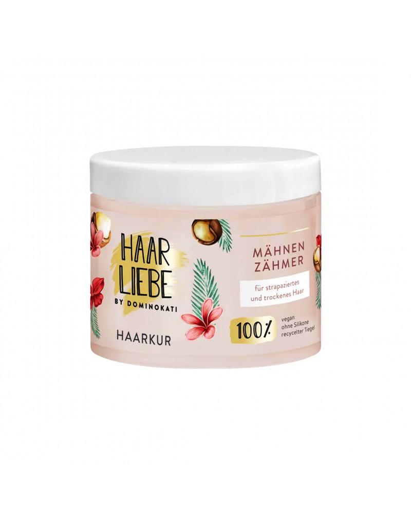Haarkur Mähnenzähmer Маска для сухих и поврежденных волос с маслом макадамии и франжипани, 200мл