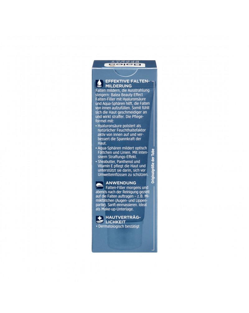 Serum Beauty Effect Falten-Filler Сыворотка с гиалуроновой кислотой и аква-сферами против морщин, 30 мл