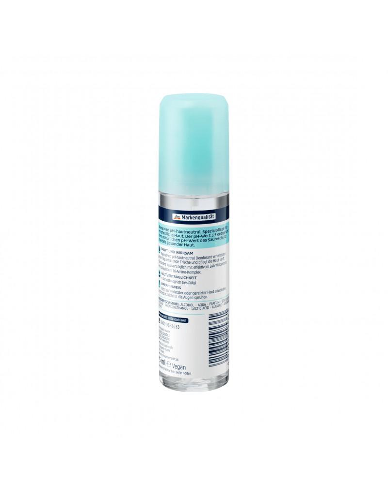 Deo-Zerstäuber pH 5,5 Hautneutral Дезодорант-спрей для чувствительной кожи, 75 мл