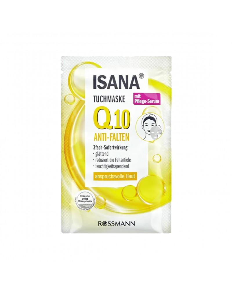 Tuchmaske Q10 Anti-Falten Тканевая маска с коэнзимом Q10, маслом сладкого миндаля и экстрактом ламинарии японской, 1 шт.