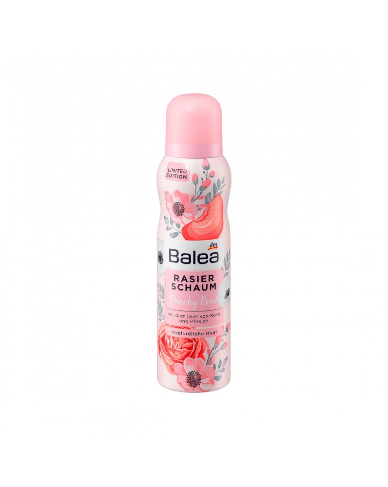 Rasierschaum Peachy Rose Пена для бритья с экстрактом алоэ вера и ароматом персика и розы, 150 мл