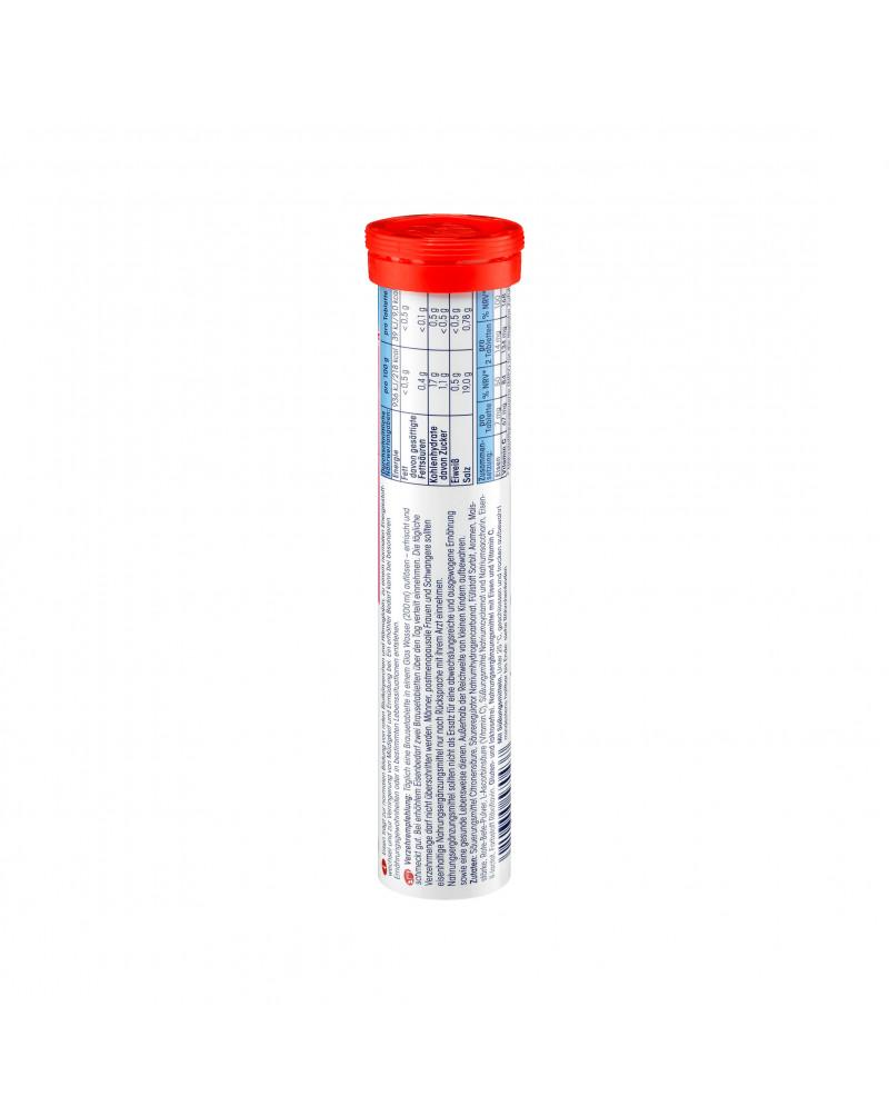 Eisen + Vitamin C Brausetabletten Шипучие таблетки Железо + Витамин С, со вкусом смородины 20 шт