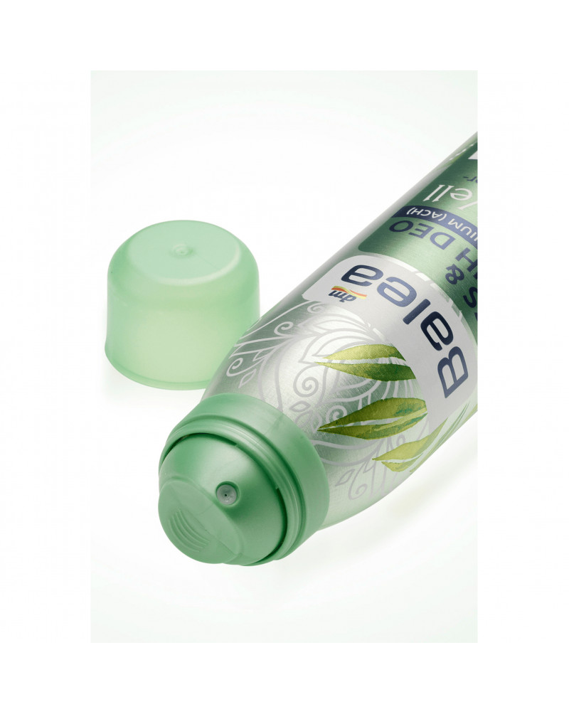 Fuß- und Schuhdeo Feel Well Расслабляющий дезодорант для ног с экстрактом зеленого чая и маслом мяты, 150 мл
