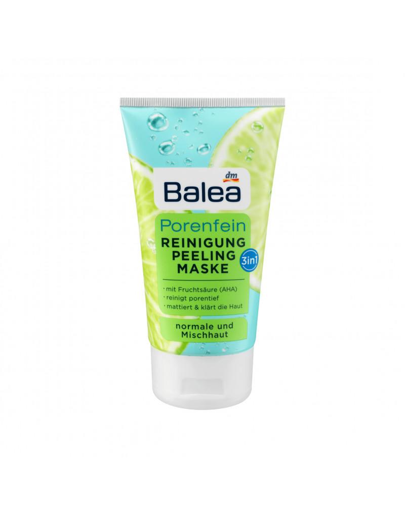 Reinigung Peeling Maske Porenfein Крем для умывания 3в1 с фруктовой кислотой (AHA), 150 мл