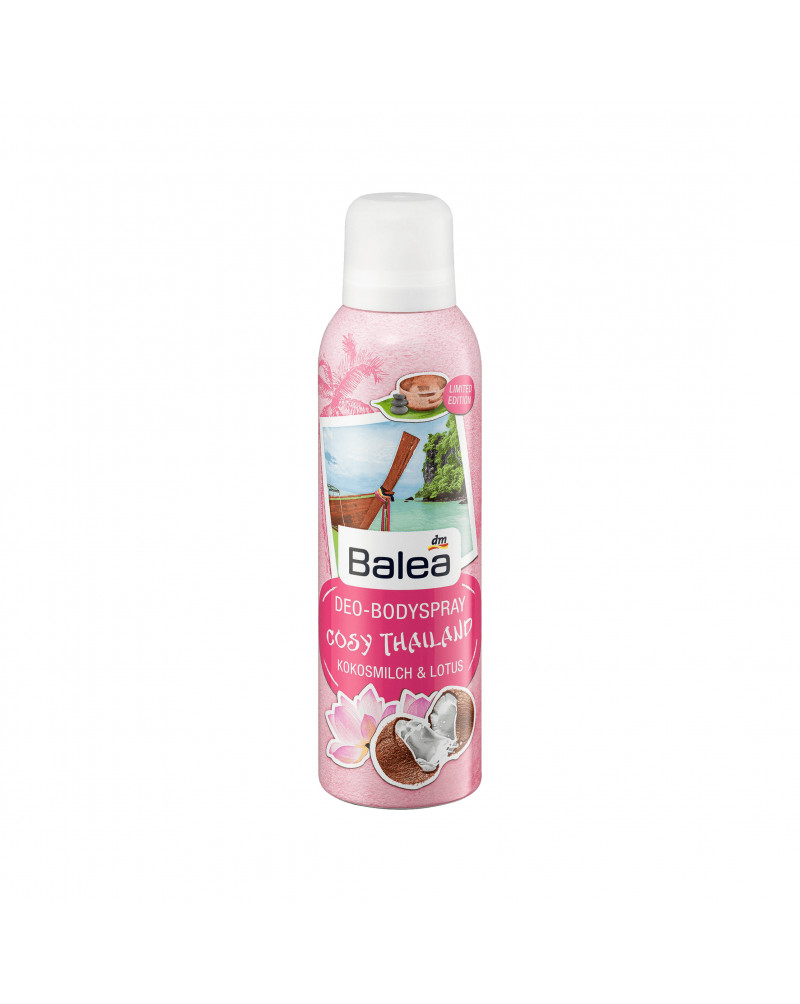 Deo Spray Deodorant Cosy Thailand Дезодорант парфюмированный с ароматом кокоса и лотоса, 200 мл
