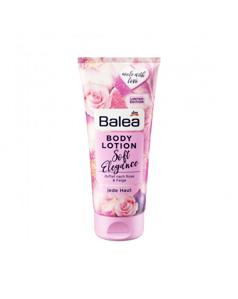 Bodylotion Soft Elegance Лосьон для тела с маслом Ши, маслом подсолнуха и ароматом розы и инжира, 200 мл
