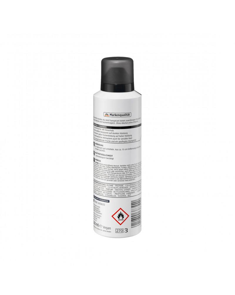 "Deo Spray Antitranspirant invisible Дезодорант-антиперспирант  ""Невидимая защита"",  200 мл"