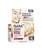 Vital Nachtcreme Ночной крем для лица c гиалуроновой кислотой, маслом ши, арганы, сои и витамином Е, 50 мл