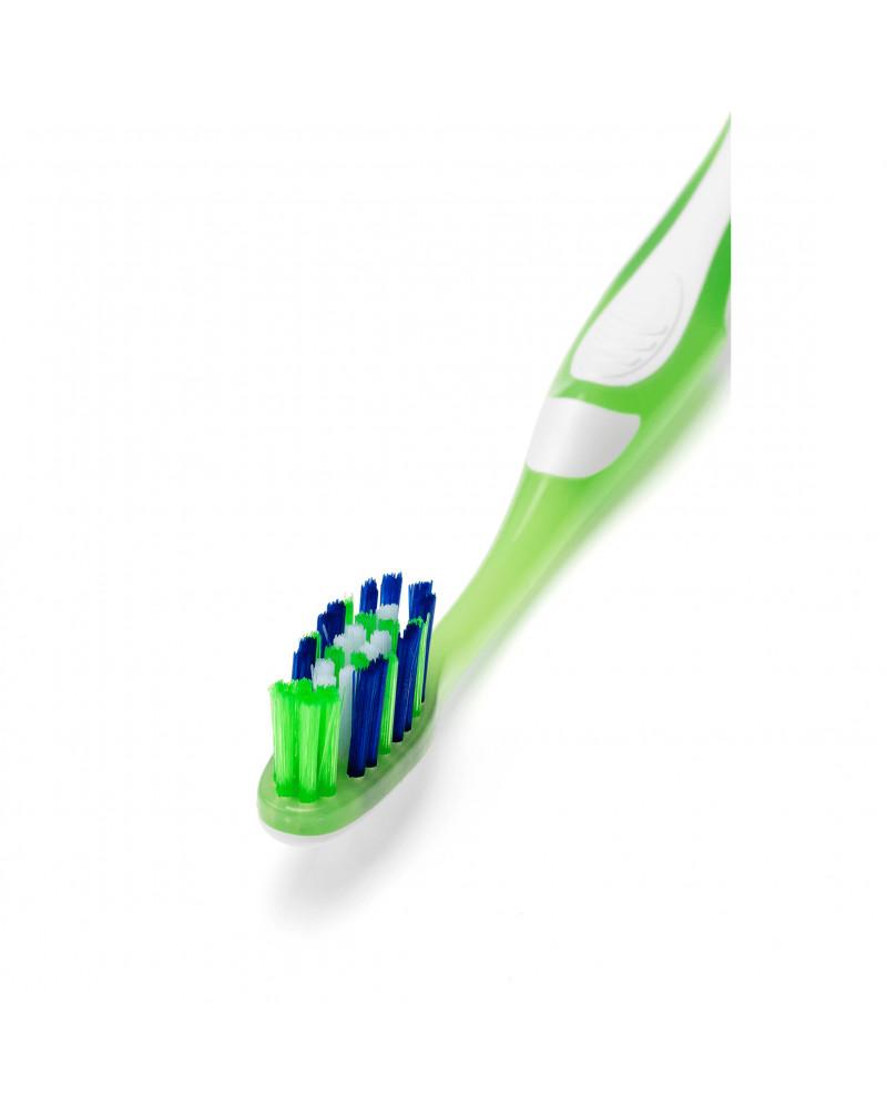 Zahnbürste X-Clean mittel Зубная щетка с X-образными щетинками, средней жесткости,1 шт.