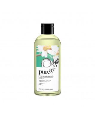 Shampoo Jasmin&Kokosnussöl Шампунь для сухих и поврежденных волос с жасмином и кокосовым маслом, 250 мл