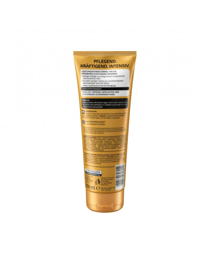 Shampoo Oil Repair Intensiv Шампунь с аргановым и касторовым маслом для сухих и поврежденных волос, 250 мл