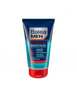 Waschgel clear + care 3in1 Гель для умывания против черных точек с салициловой кислотой, 150 мл