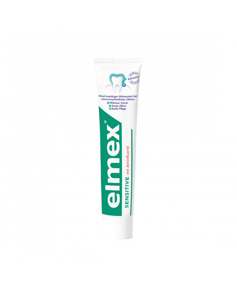 Zahnpasta sensitive Doppelpack Зубная паста с фторидом амина для чувствительных зубов (2 x 75 мл.), 150 мл.