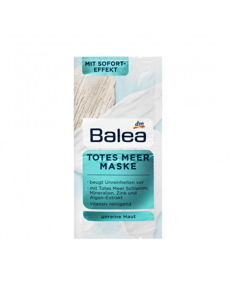 Maske Totes Meer Маска для лица с грязью мертвого моря, минералами, цинком, экстрактом водорослей, 2 x 8 мл