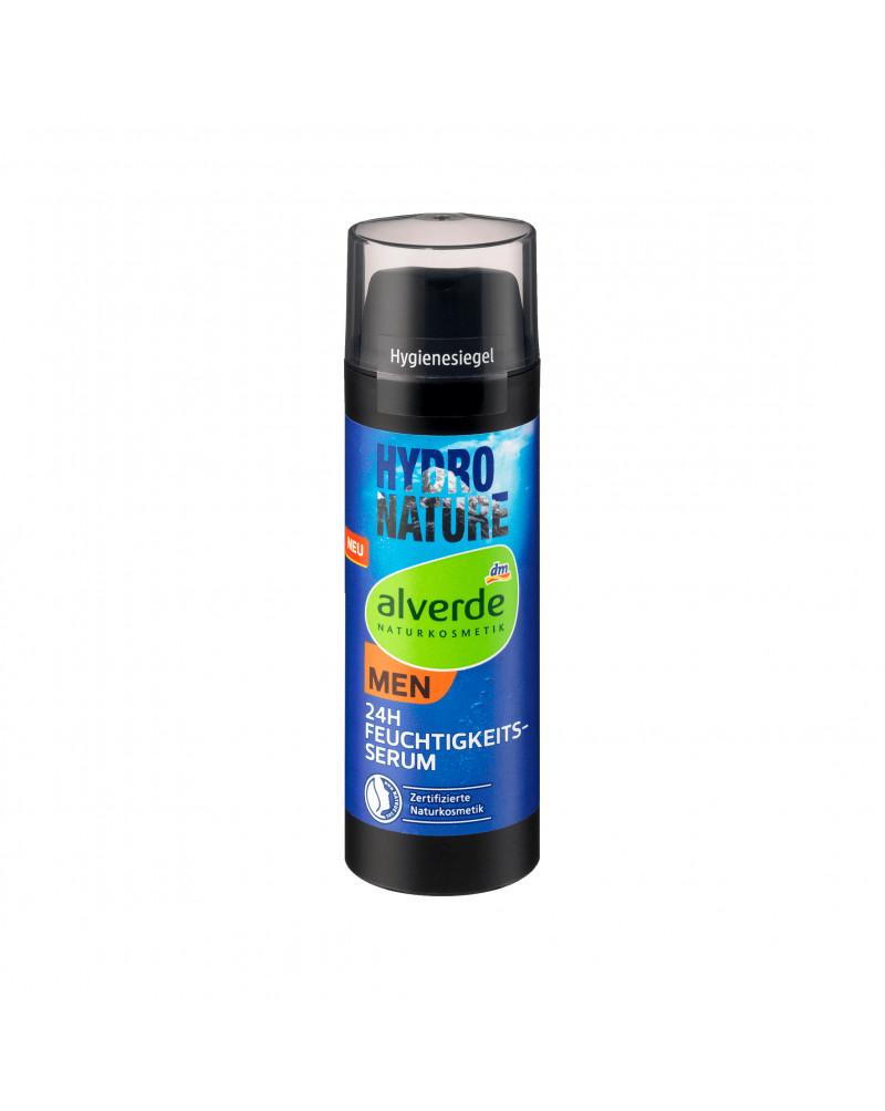 Hydro Nature 24h Feuchtigkeitsserum Увлажняющая сыворотка для лица с экстрактом алоэ и гиалуроновой кислотой, 50 мл