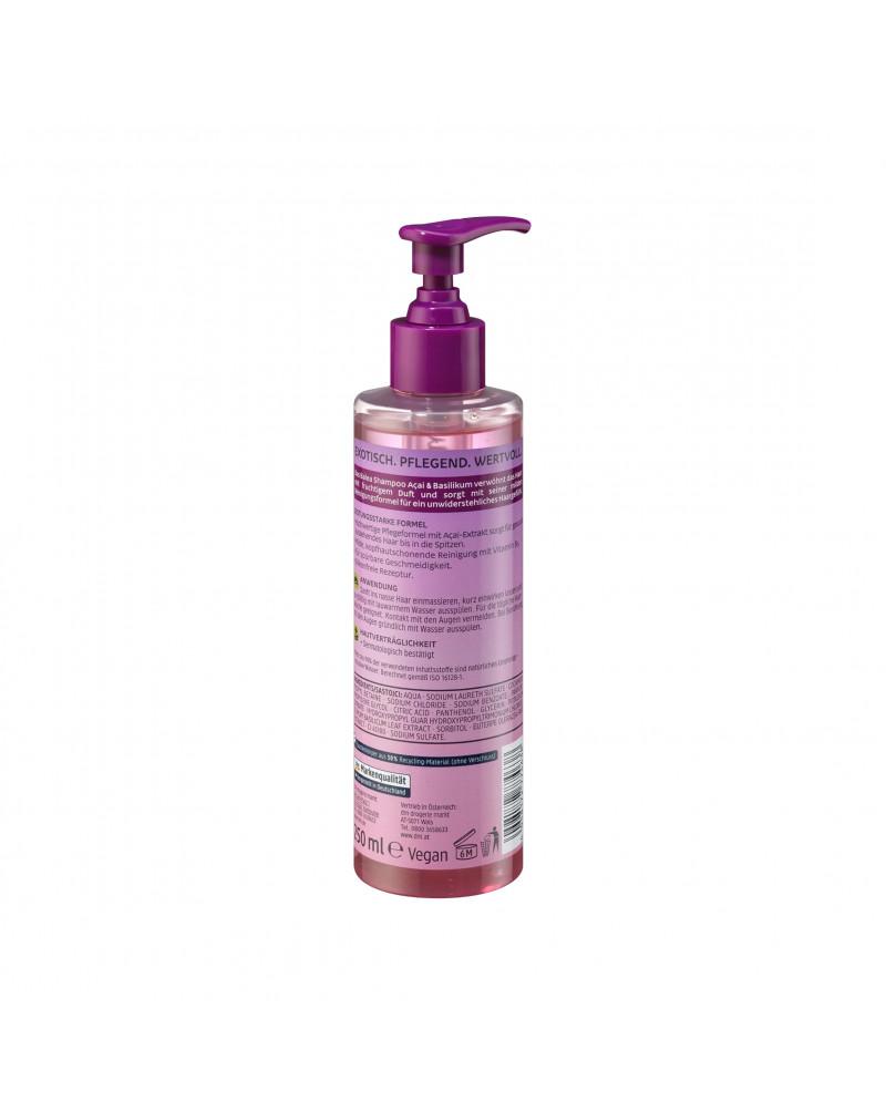 Shampoo Acai & Basilikum Шампунь для сухих и поврежденных волос с экстрактом асаи и базилика, 250 мл.