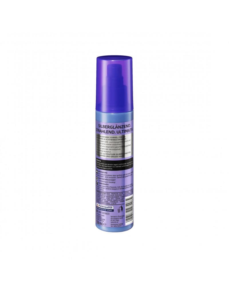 Anti-Gelbstich Spray Silberglanz Спрей для устранения желтого пигмента с экстрактом коры белой ивы и кератином, 150 мл