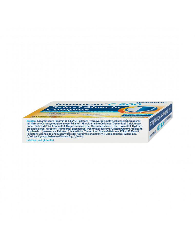Immusan C Complex Tabletten Комплекс витаминов для иммунитета, 20 таб.