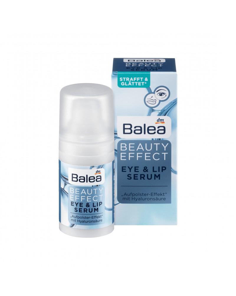 Augencreme Beauty Effect Eye & Lip Serum Сыворотка-лифтинг для области глаз и губ с гиалуроновой кислотой, 15 мл