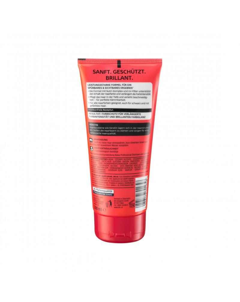 Spülung Colorschutz Кондиционер для окрашенных волос с кератином и рубиновыми частицами, 200 мл