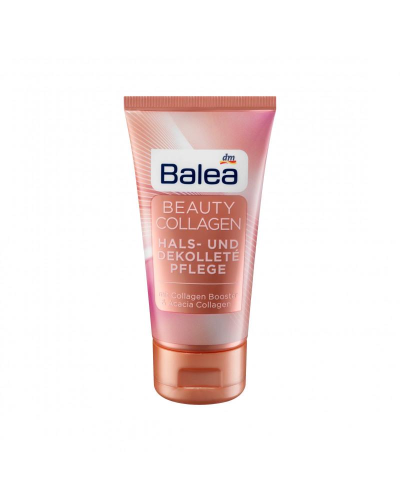Beauty Collagen Hals- und Dekolletépflege Дневной крем-лифтинг для лица, шеи и зоны декольте, с коллагеном, с экстрактом семян макадамии, маслом Ши, экстрактом красных водорослей, 50 мл