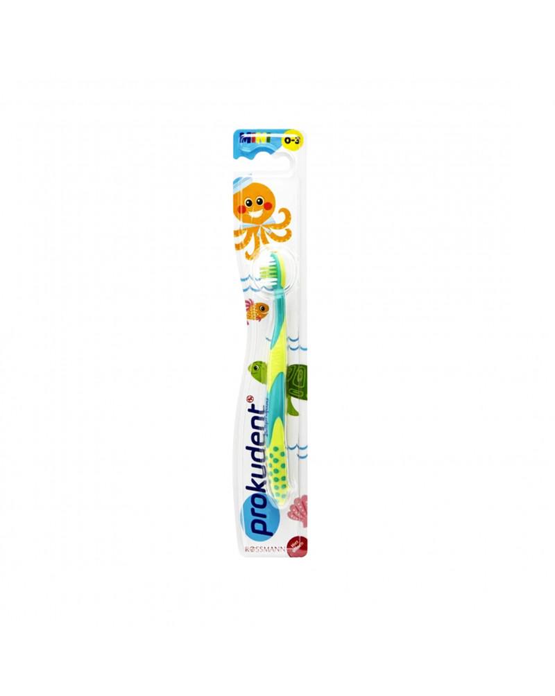 Kinderzahnbürste Зубная щетка для детей мягкая, с 0 до 3 лет, 1 шт.