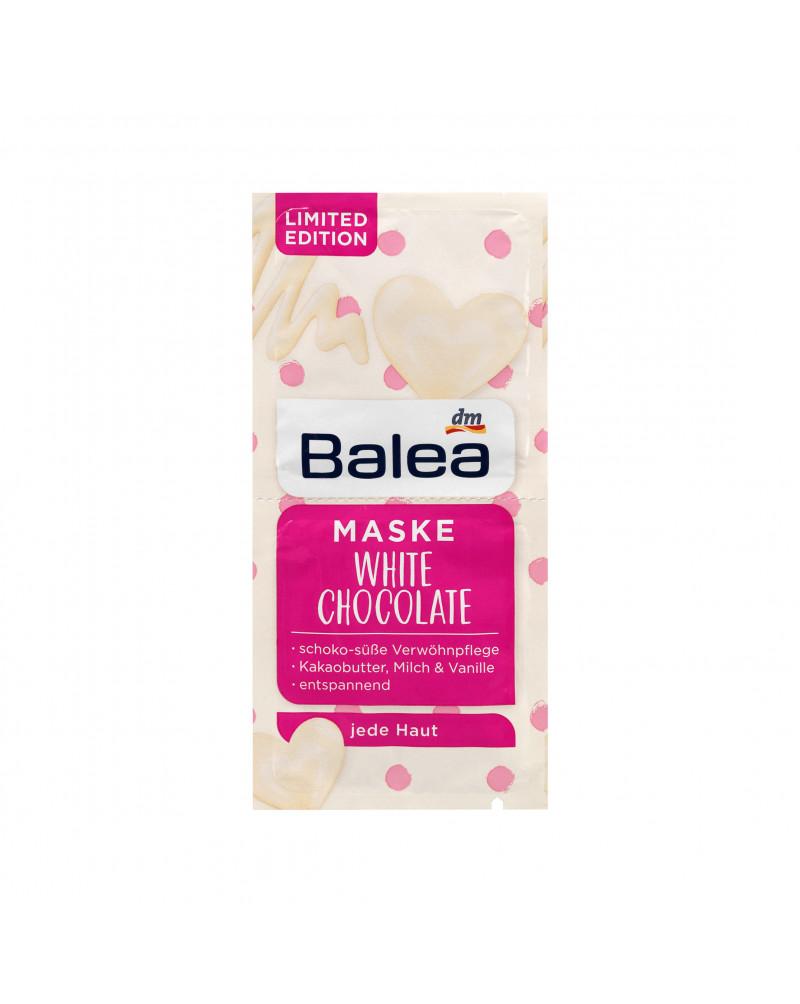 Maske White Chocolate Маска для лица с экстрактом облепихи, орхидеи, розмарина и маслом какао, 2 x 8 мл