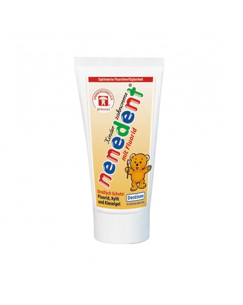 Kinderzahncreme Зубная паста для детей, со вкусом малины и клубники, 50 мл