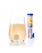 Multi-Mineral Brausetabletten Шипучие витамины Мульти-минерал, со вкусом апельсина и маракуйи, 20 шт