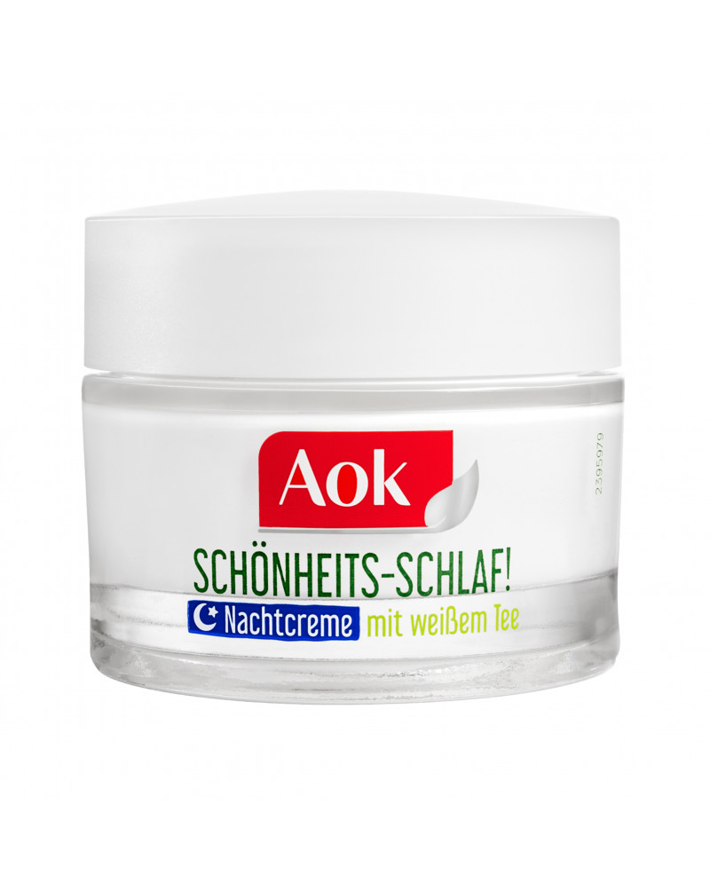 Nachtcreme mit Weißem Tee Ночной крем для проблемной кожи лица с экстрактом с белого чая, 50 мл