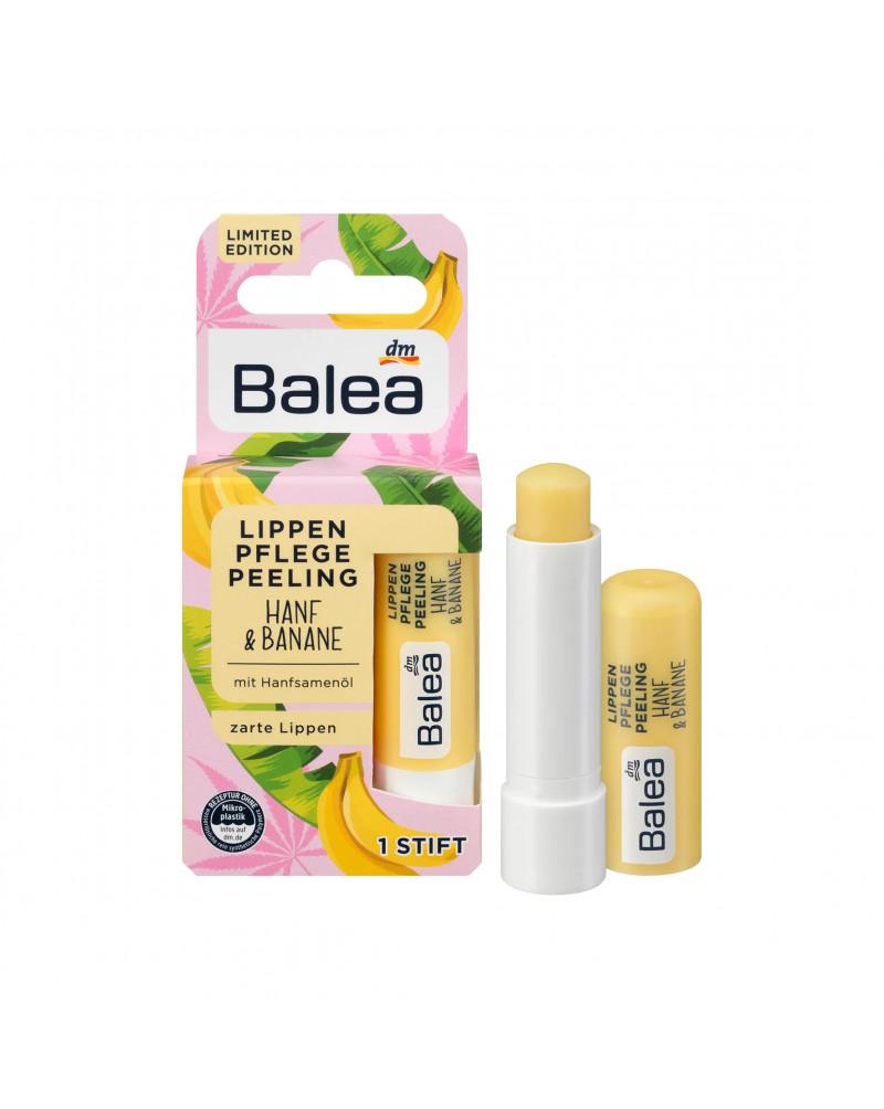 Lippenpflege Lippenpeeling Hanf & Banane Пилинг для губ с маслом семян конопли и бананом, 4,8 гр.