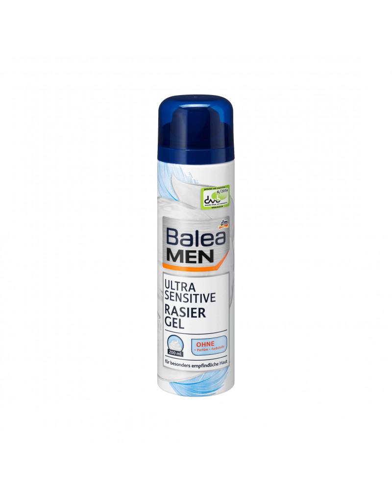 Rasiergel ultra sensitive Гель для бритья для гиперчувствительной кожи с маслом авокадо, 200 мл
