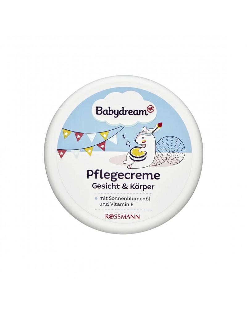 Pflegecreme Gesicht & Körper Крем для лица и тела с маслом подсолнечника, витамином Е и пантенолом, 150 мл