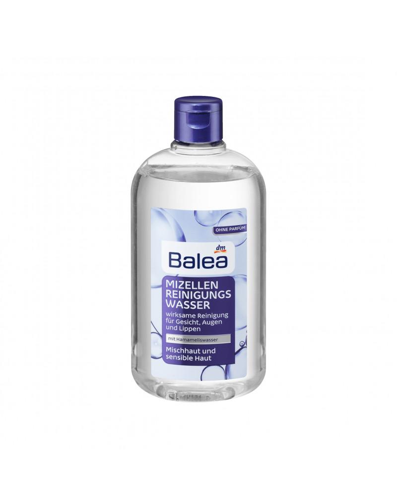 Reinigungswasser Mizellen Mischhaut und sensible Haut Мицеллярная вода для снятия макияжа с пантенолом, глицерином и гамамелисом виргинским, 400 мл