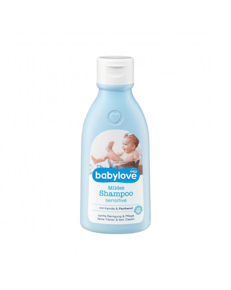 Mildes Shampoo sensitive Шампунь для чувствительной кожи головы с экстрактом ромашки и пантенолом, 250 мл