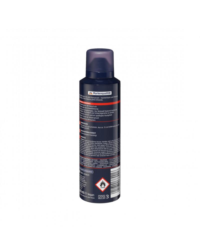 """Deo Spray Antitranspirant extra dry Дезодорант с хлопковым маслом """"Экстра сухость"""", 200мл"""