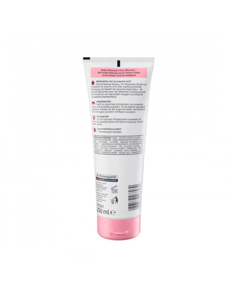 Shampoo Pure Blossom Шампунь для волос с экстрактом цветков пиона, 250 мл