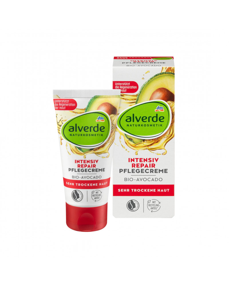 Tagespflege Intensiv Repair Avocado  Крем для лица восстанавливающий с авокадо и пчелиным воском, 50 мл